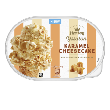 Karamel Cheesecake | Producten Hertog